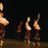The Fresno City College's Folklorico group dancing during Noche De Danza Mexicana on Saturday, April 25, 2015 at the Fresno City College Theatre.