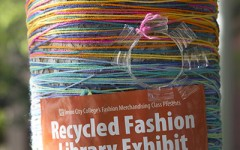 Recycled fashion exhibit to unveil April 22