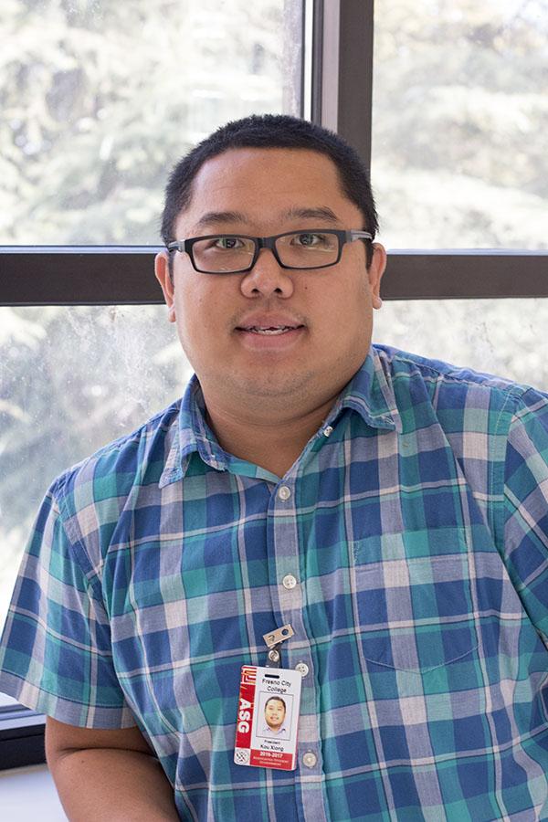 Fresno City College Associated Student Government President Kou Xiong.