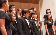 Area High School Choirs Perform in Fall Festival
