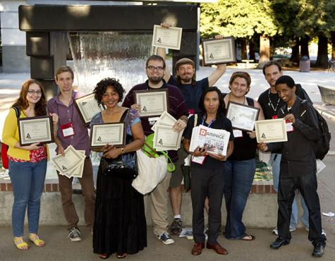 Rampage staff wins awards at journalism conference