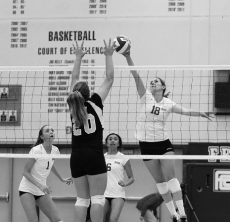 Women's volleyball stays perfect in CVC