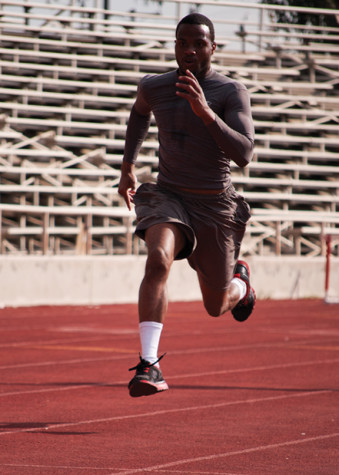 Track and Field athletes ready to compete with the elite