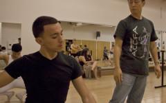 Honoring an instructor through dance