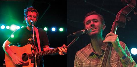 Two-man band makes stop at Strummers