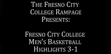 Fresno City College Men's Basketball 3/1/14