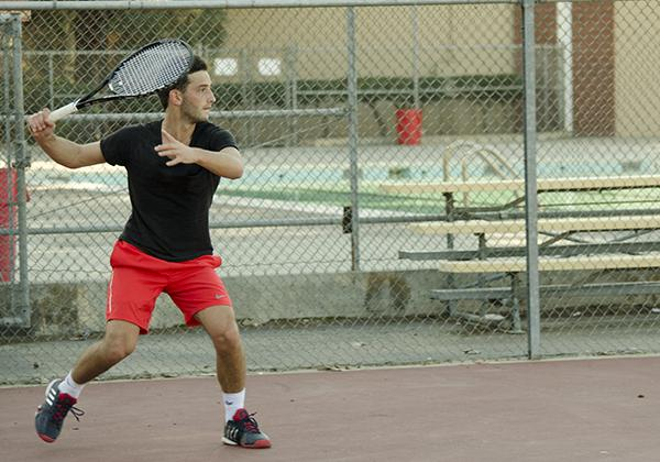 Men's Tennis Team Hopeful, Despite Challenges