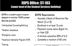 EOPS Applications for Fall 2015 being accepted July 10