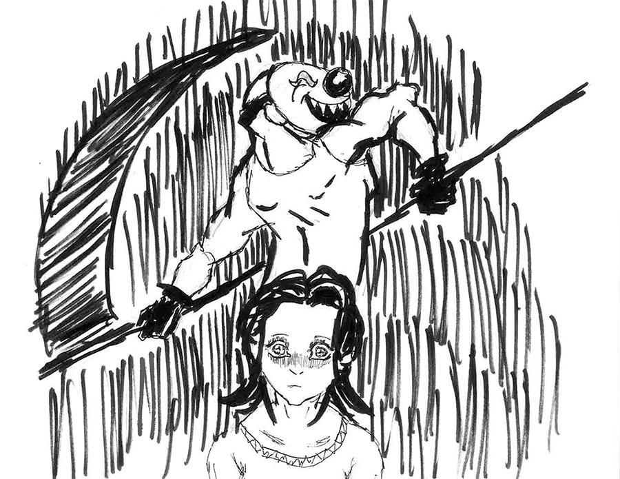 Transgender Community in Fear of Attacks Illustration.