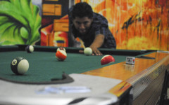 Game room gives students needed downtime