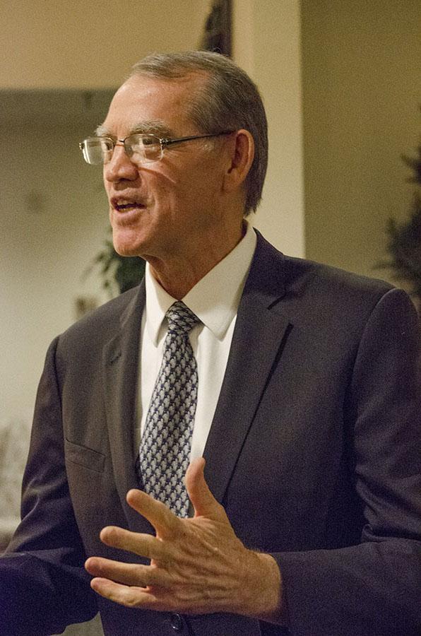 SCCCD Chancellor, Dale Paul Parnell.