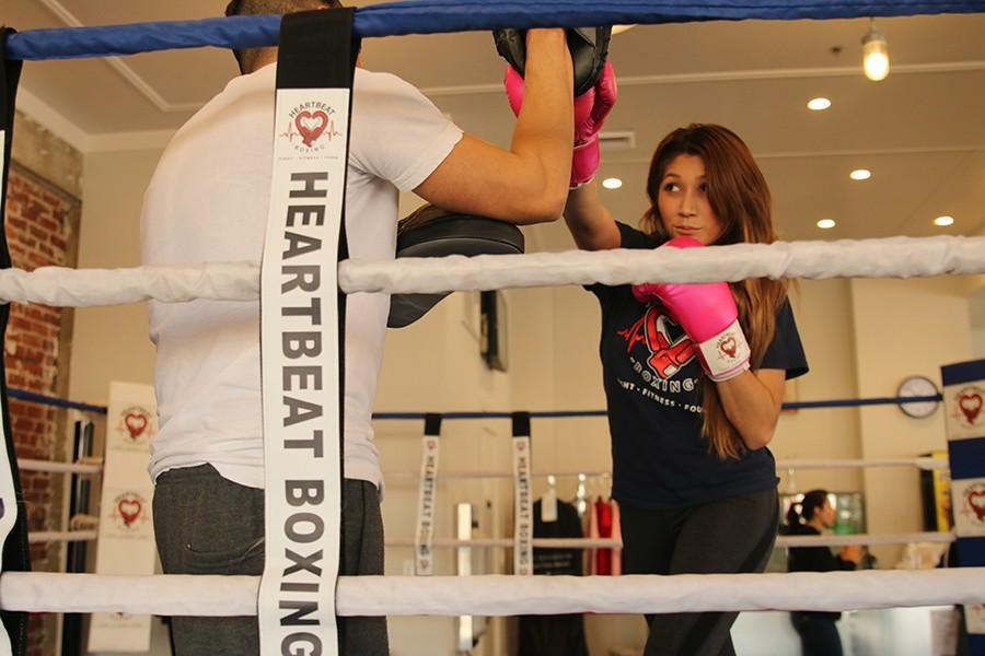Boxing Studio Offers Scholarship, Seminars on Self Defense – The