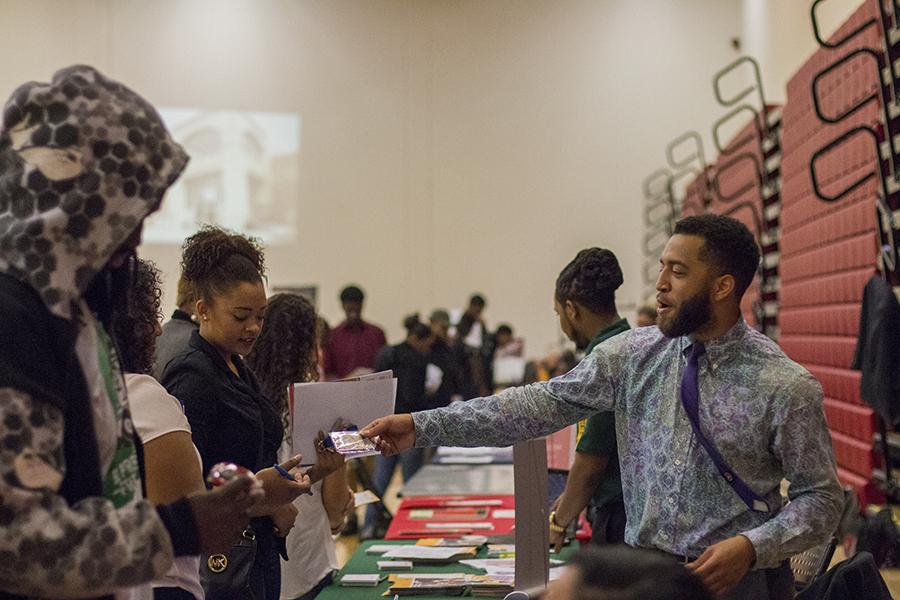 The HBCU fair at Fresno City College in 2016.  FILE PHOTO.