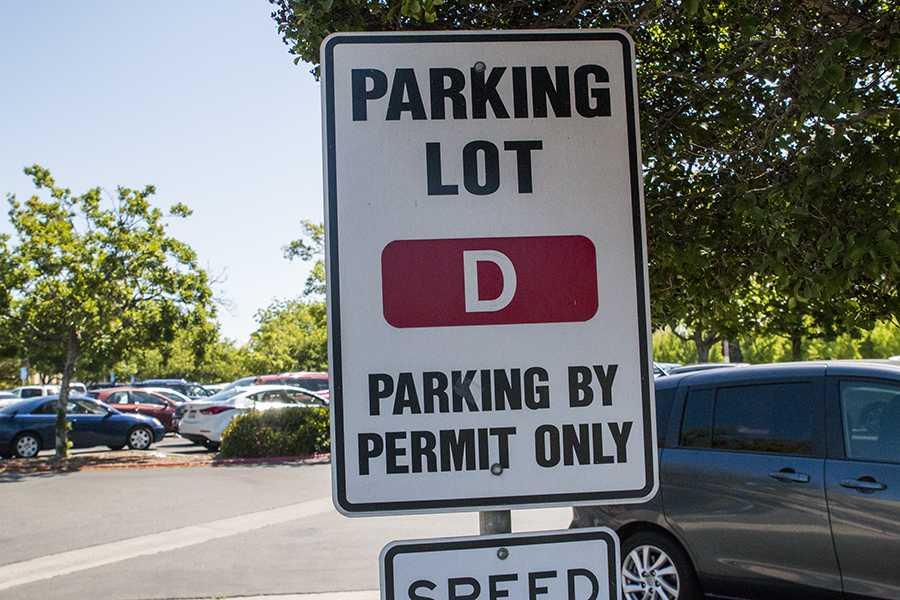 Parking lot D.