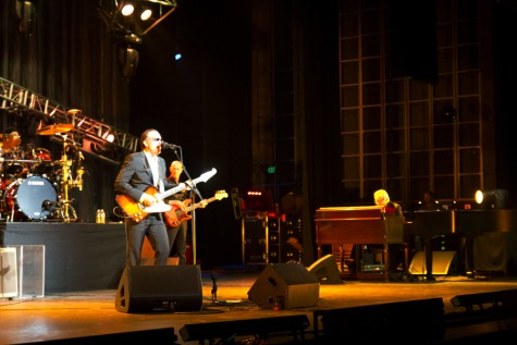 Joe Bonamassa performing live at William Saroyan Theater in downtown Fresno, Calif. on Wednesday, April 27, 2016.