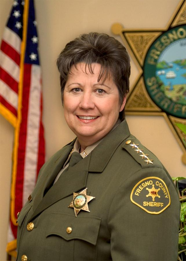 Fresno County Sheriff Margaret Mims was selected as the 2016 Distinguished Alumna for the Fresno City College graduation ceremony on May 20, 2016.