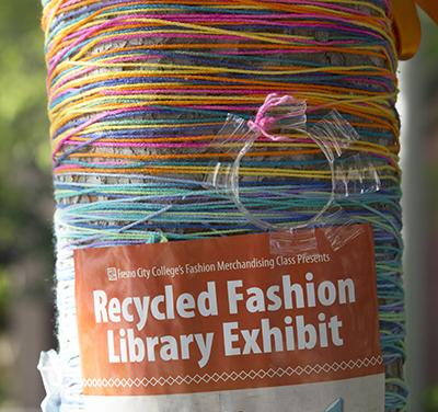 The Recycled Fashion Library Exhibit will have its unveiling on April 22 from 7 p.m. to 8 p.m.