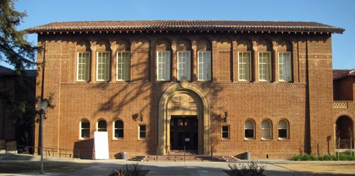 Fresno City College Old Administration Building.