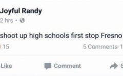 Juvenile arrested after Facebook post claims shooting threat to Fresno high schools