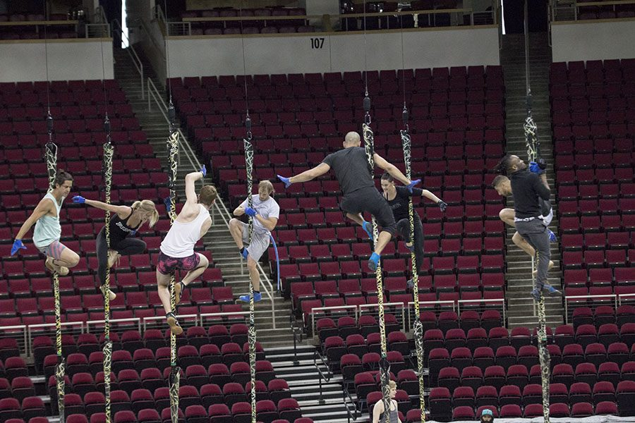 Acrobats+rehearse+for+Thursday%27s+opening+night+of+Cirque+Du+Soleil%3A+Toruk+at+the+Save+Mart+Center+on+Tuesday+Oct.+25%2C+2016