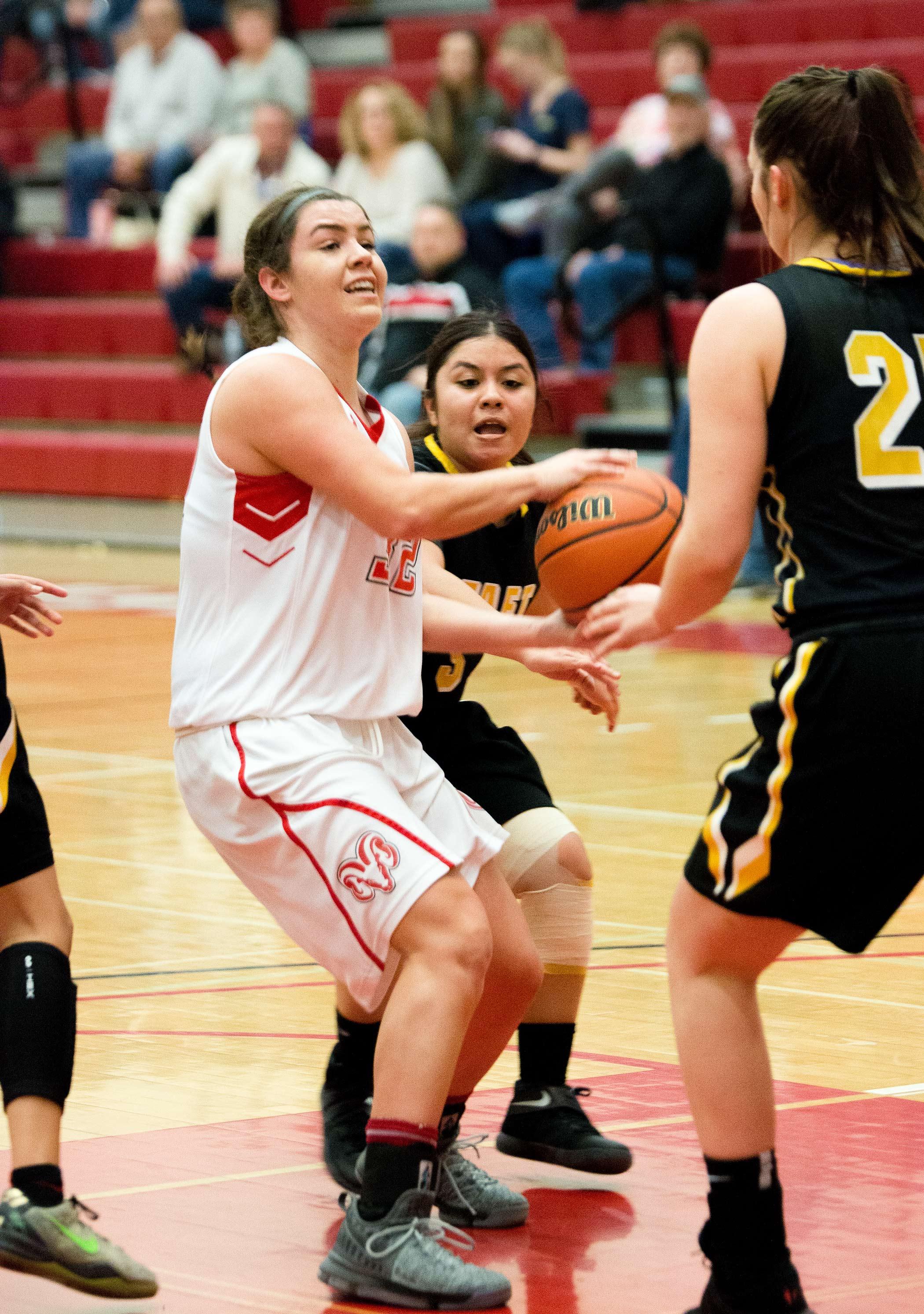 FCC women's basketball game on Jan. 24.