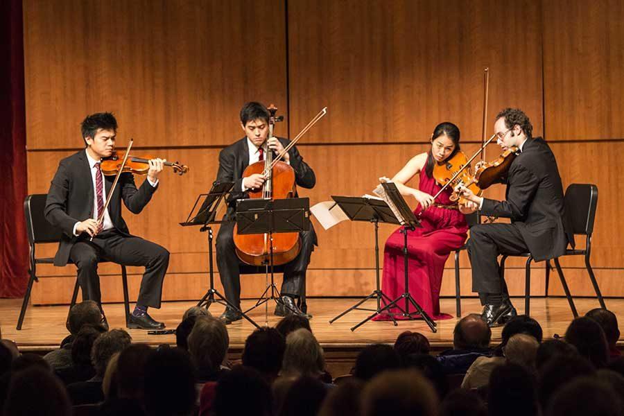 Renowned+String+Quartet+Performs+at+FCC