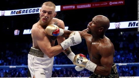 Mayweather lands haymaker on McGregor during Saturday night