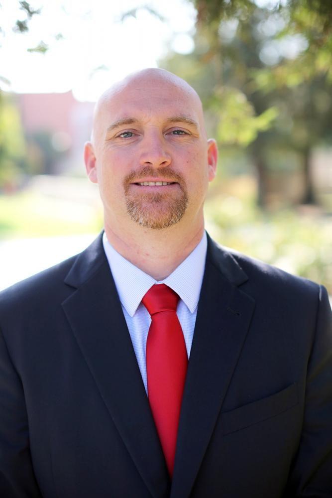 New Interim Athletic Director Cam Olson.