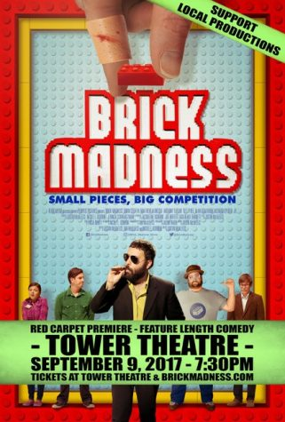 Brick Madness Movie Poster advertising Tower Theatre premiere courtesy of FresYes.com