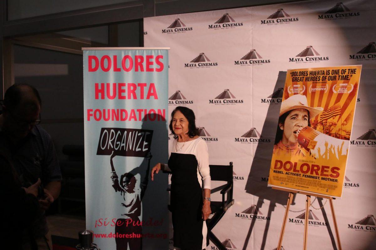 Dolores+Huerta+mingles+with+fans+at+Maya+Cinema+in+Fresno