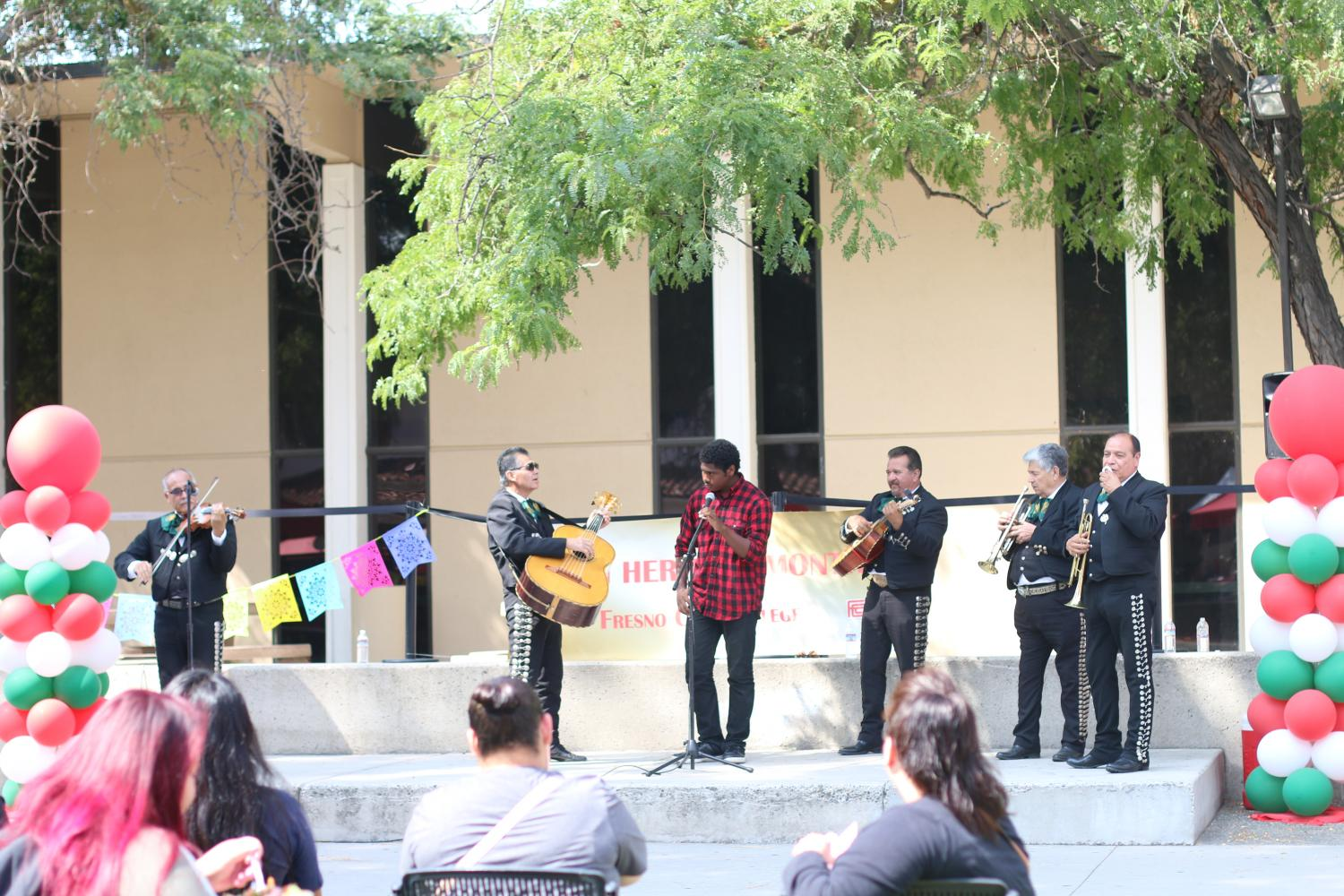 The Fresno City College student activities office organized a Club Rush on Thursday, Sept. 14, 2017 to coincide with the beginning of Latino Heritage Month.