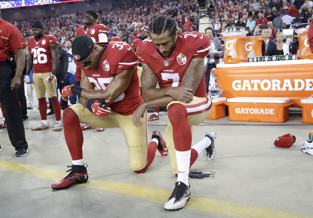 Take a Knee Against White Supremacy