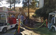 Water Leak Affects South End of Campus