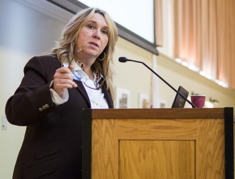 Fresno City College president Carole Goldsmith