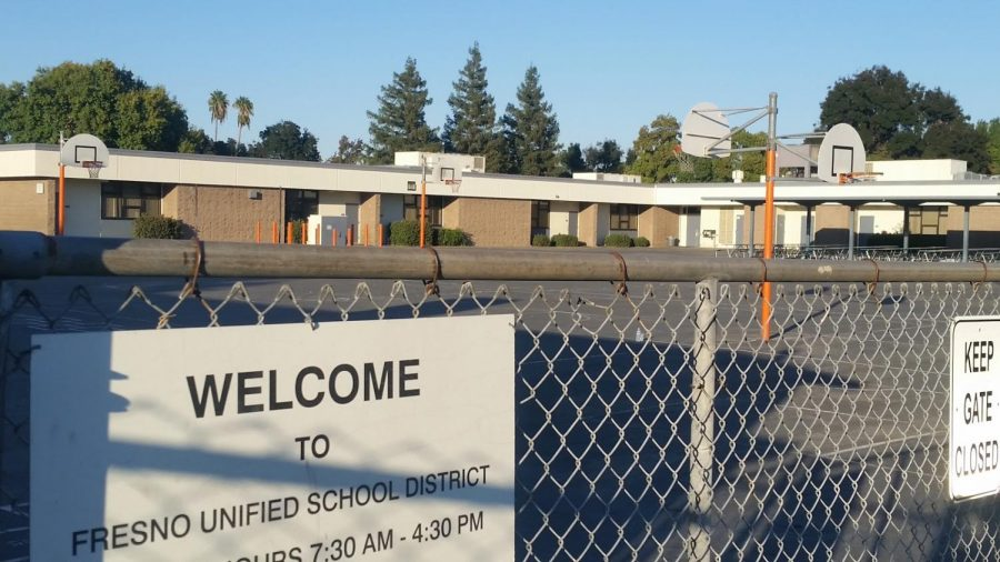 A vacant playground at Starr Elementary School on Oct. 22 may be a common sight should the FUSD teacher strike take place.