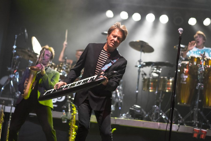 Chicago Founding member Robert Lamm performs at the Paul Paul Theater in The Big Fresno Fair on Friday, Oct. 6, 2017.