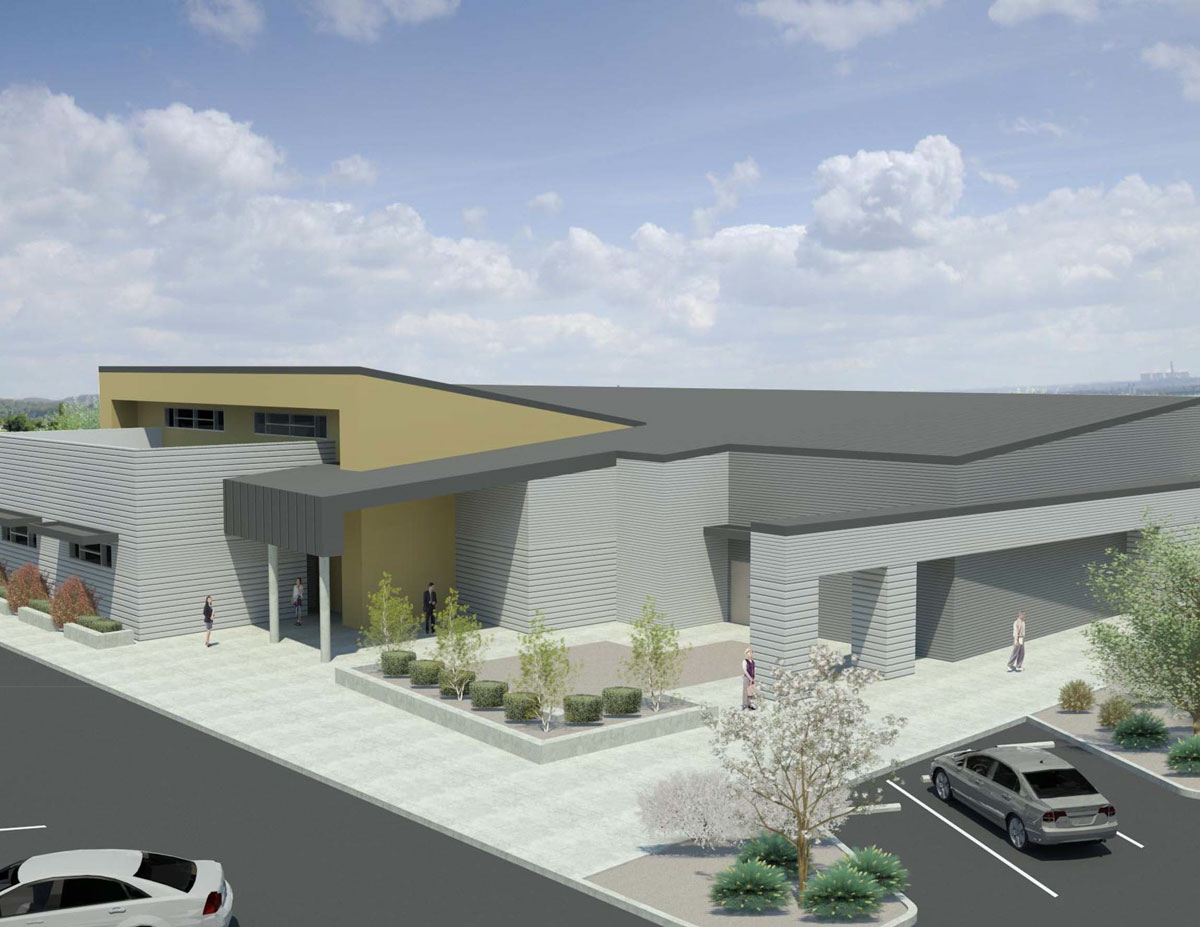 Computer renderings of what the CTEC campus will look like when it opens in August 2018. Photo courtesy of CTEC