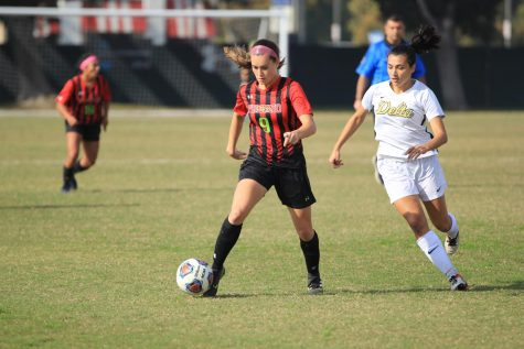 Women's Soccer Team Punches Ticket to State Championship