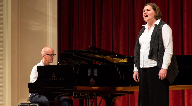 Gena Chambers sings and Arne Kela plays