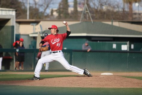 Rams baseball wins close battle against Cabrillo