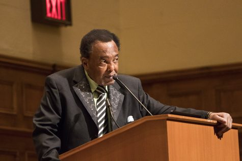 Speaker Shares His Lived Black History in Opening Ceremony