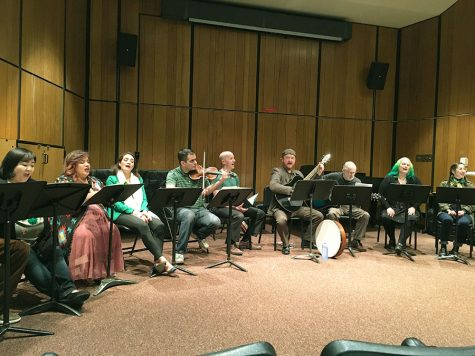 Opera Students Celebrate St. Patrick's Day with Irish Music