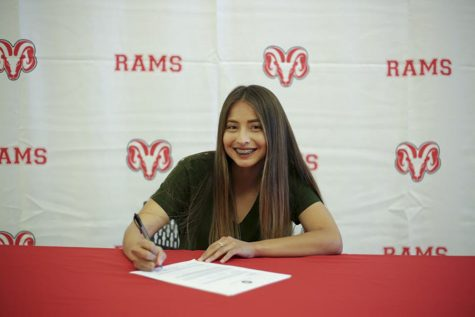 Ram Athletes Sign Letters of Intent