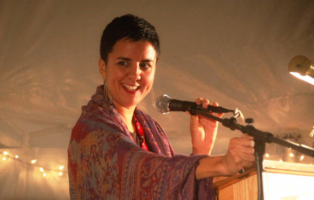 Carmen Giménez Smith will replace Randa Jarrar as headliner of this year's  LitHop.
