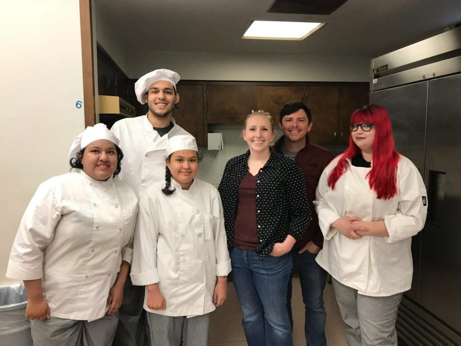 Ampersand to Feature Creations by Culinary Students