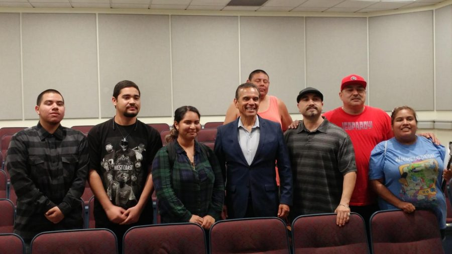 2018+California+Governor+Candidate+Antonio+Villaraigosa+answers+questions+from+FCC+students+about+issues+facing+the+Central+Valley+and+more.+Photo%2FAndrew+R.+Leal