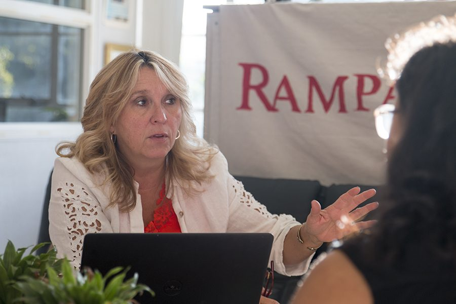 Fresno City College President Carole Goldsmith talks about her plans for the college on Aug. 28, 2018.