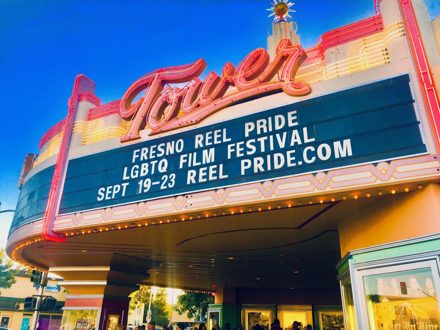 Fresno Reel Pride LGBTQ Film Festival taking place at Tower Theatre in Fresno's Tower District. Thursday, Sept. 20, 2018.