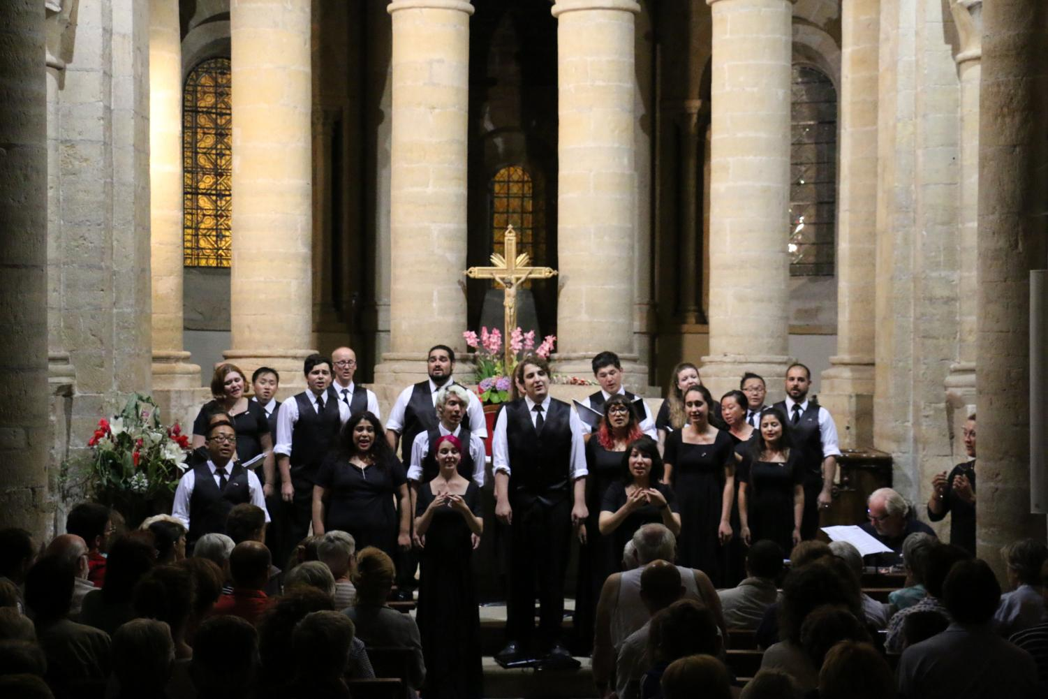 FCC Performing in France Summer 2016.