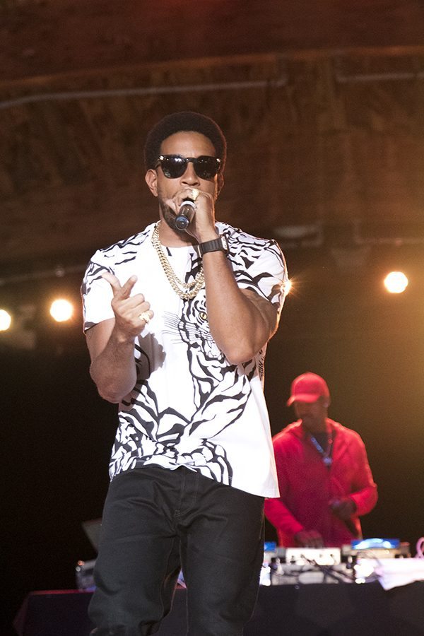 Rapper Ludacris perfroms at Paul Paul theater on Friday, Oct. 15, 2018.